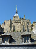Two windows at Mont Saint Michel in France Stock Photos