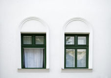 Two windows Stock Photo