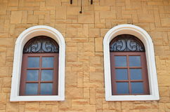 Two windows Royalty Free Stock Photo