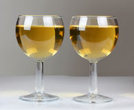 Two wine Royalty Free Stock Images