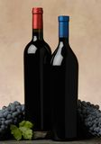 Two wine bottles Royalty Free Stock Photography