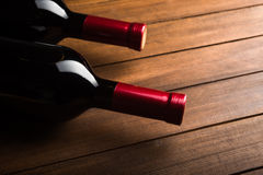 Two wine bottles Royalty Free Stock Photo