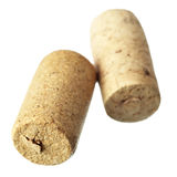 Two wine corks Stock Photo
