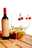 Two wine glass Royalty Free Stock Photography
