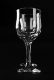 Two wine glasses Stock Photos