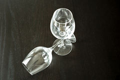 Two wine glasses Royalty Free Stock Image