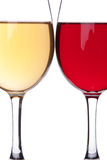 Two wineglasses Royalty Free Stock Photos