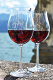 Two wineglasses Royalty Free Stock Photography