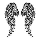 Two wings of angel. Royalty Free Stock Image