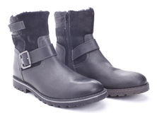 Two winter boots Royalty Free Stock Photography