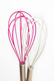 Two wire whisks Stock Image