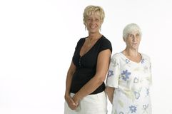 Two woman Stock Photo