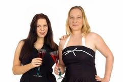Two woman Royalty Free Stock Photos