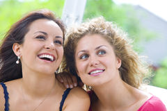 Two woman Stock Photos