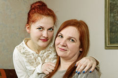 Two woman friends. Stock Images