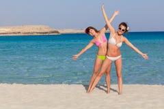 Two woman is having fun Stock Photo
