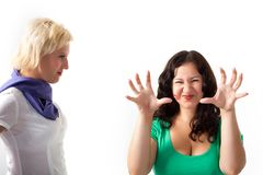 Two women Royalty Free Stock Photo