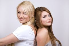 Two women Royalty Free Stock Image