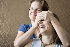 Two Women Stock Photos