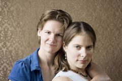 Two Women Stock Photography