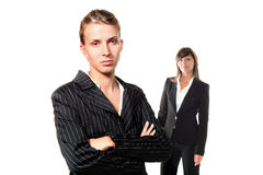 Two women career Royalty Free Stock Photography