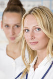 Two women doctors Stock Photos