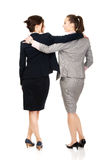 Two women embracing each other. Stock Photography