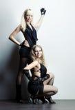 Two women fashion Royalty Free Stock Photo