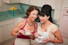 Two Women Gossiping Royalty Free Stock Photo