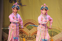 Two women - Opera: Chu Han contention Stock Image