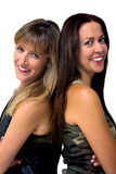 Two women portrait Royalty Free Stock Images