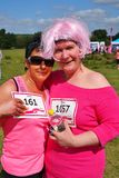 Two women at Race For Life event Stock Images