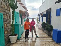 Tourists in Bodrum