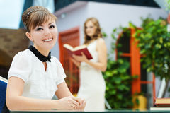 Two women student Stock Photos