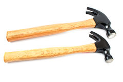 Two wood hammer Royalty Free Stock Photos