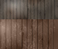 Two wood textures Royalty Free Stock Image