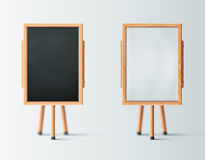 Two Wooden Easel Royalty Free Stock Images