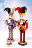 Two wooden nutcrackers Stock Photography