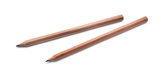 Two wooden pencil Stock Photos
