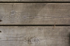 Two wooden planks background, close up stock image