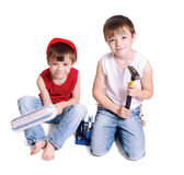 Two workers Royalty Free Stock Photo