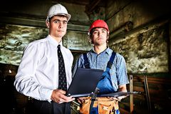 Two workers Royalty Free Stock Photography