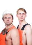 Two workers Stock Image