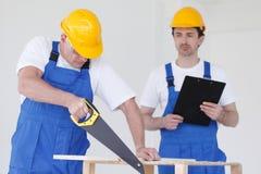 Two workmen Royalty Free Stock Photos