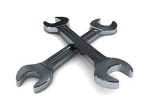 Two wrenches Royalty Free Stock Photos
