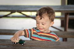 Two year old boy Stock Photos