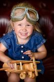 Two year old girl stock images