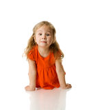 Two years girl Royalty Free Stock Images