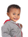Two Years Old Adorable African American Boy Portrait Stock Photo