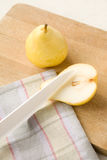 Two Yellow Pears Stock Images